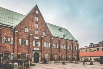 Kronhusets huvudfasad