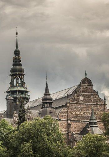 Nordiska Museets gavelfasad