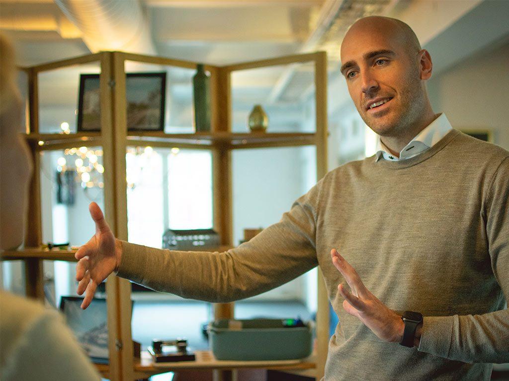 Christian Zivec, affärsutvecklare på Sustend